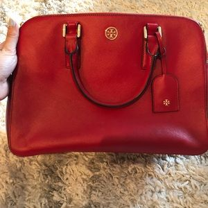 Red Tory Burch Tote NWOT